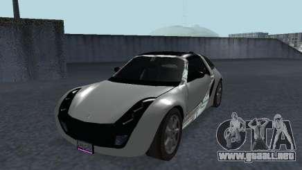Smart Roadster Coupe para GTA San Andreas