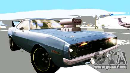 Plymouth Cuda AAR 340 1970 Muscle Cars para GTA San Andreas