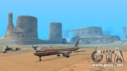 Boeing 767-300 American Airlines para GTA San Andreas