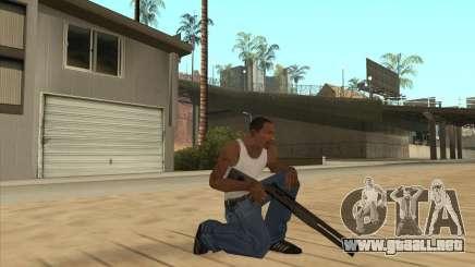Escopeta automática para GTA San Andreas