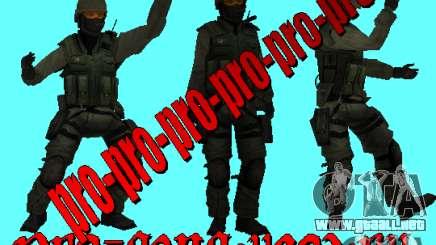 A. R. M. Y piel piel militar para GTA San Andreas