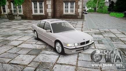 BMW 740i (E38) style 32 para GTA 4