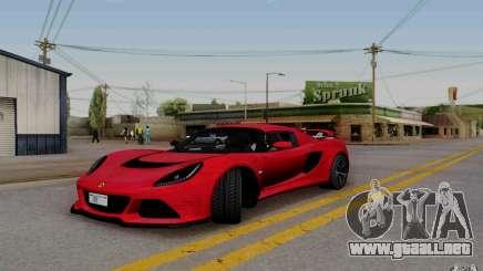 Lotus Exige S V1.0 2012 para GTA San Andreas