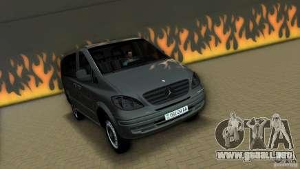 Mercedes-Benz Vito 2007 para GTA Vice City