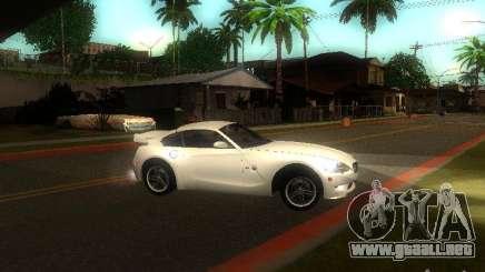 BMW Z4 M 07 para GTA San Andreas