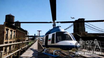 Russian Police Maverick para GTA 4