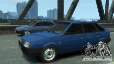 VAZ 21093i la afinación completa para GTA 4