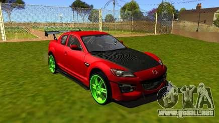Mazda RX-8 R3 Tuned 2011 para GTA San Andreas