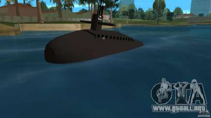 Vice City Submarine without face para GTA Vice City