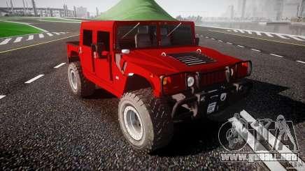 Hummer H1 4x4 OffRoad Truck v.2.0 para GTA 4