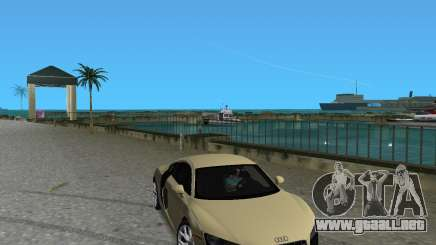 Audi R8 5.2 Fsi para GTA Vice City