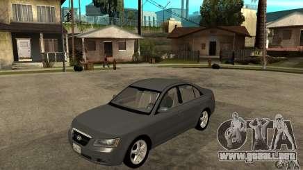 Hyundai Sonata 2008 hd para GTA San Andreas