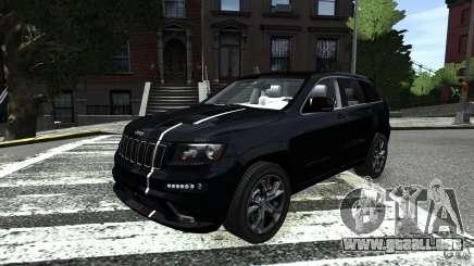 Jeep Grand Cherokee STR8 2012 para GTA 4