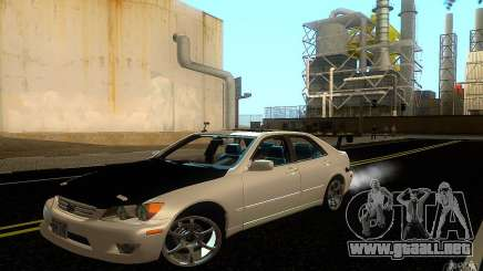Lexus IS300 Deriva blanco para GTA San Andreas