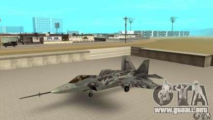 YF-22 Starscream para GTA San Andreas