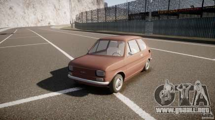 Fiat 126 para GTA 4