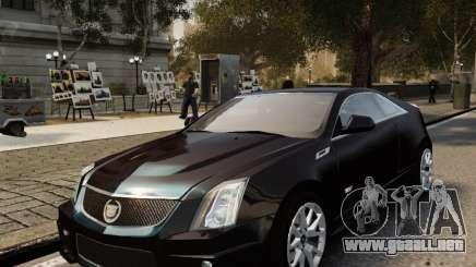 Cadillac CTS-V Coupe 2011 para GTA 4