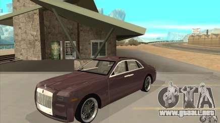 Rolls-Royce Ghost 2010 para GTA San Andreas