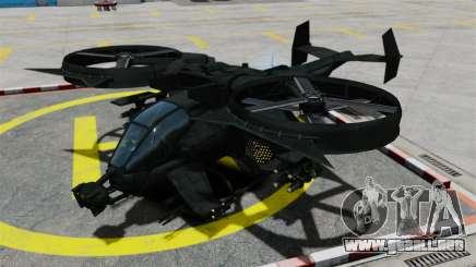 Un helicóptero de combate AT-99 Scorpion para GTA 4