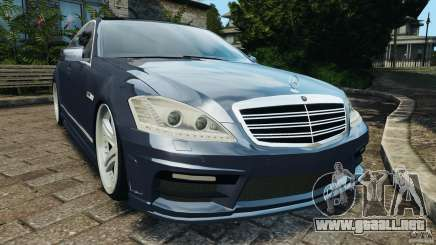 Mercedes-Benz S W221 Wald Black Bison Edition para GTA 4