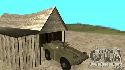 BRDM-1 piel 2 para GTA San Andreas