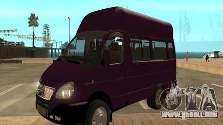 Taxi gacela 32213 para GTA San Andreas