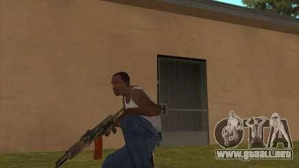 AK-74 con la textura de Metro 2033 para GTA San Andreas