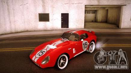 Shelby Cobra Daytona Coupe 1965 para GTA San Andreas