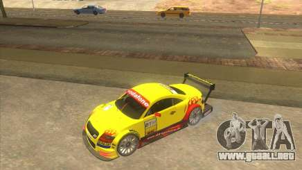 Audi TTR DTM racing car para GTA San Andreas