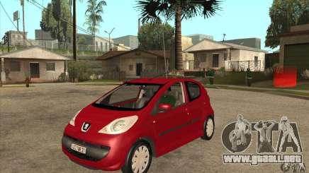 Peugeot 107 para GTA San Andreas