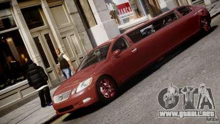 Lexus GS450 2006 Limousine para GTA 4