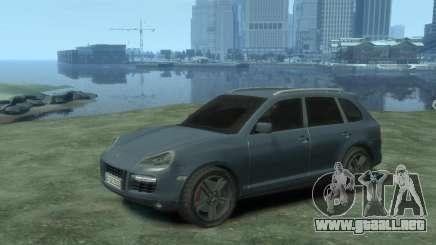 PORSCHE Cayenne turbo S 2009 para GTA 4