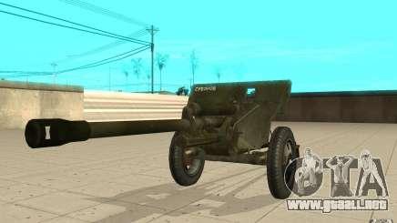 La pistola ZiS-3 para GTA San Andreas