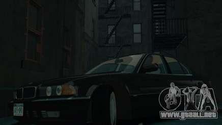 BMW 750i E38 1998 para GTA 4