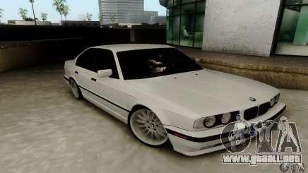 BMW E34 540i Tunable para GTA San Andreas