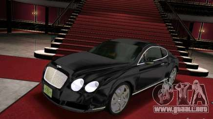 Bentley Continental GT para GTA Vice City