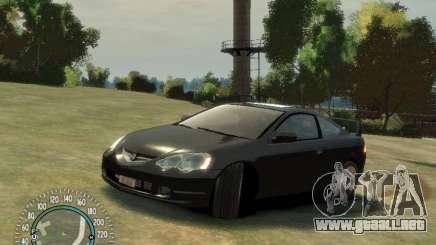 Acura RSX v2.0 metálico para GTA 4