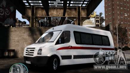 Volkswagen Crafter Turkish Schoolbus para GTA 4
