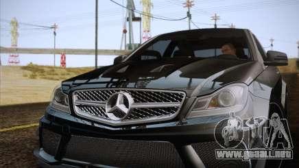 Mercedes-Benz C63 AMG Black Series para GTA San Andreas