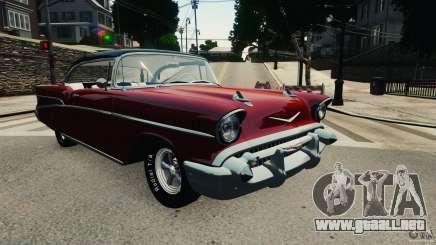 Chevrolet Bel Air Hardtop 1957 Light Tun para GTA 4