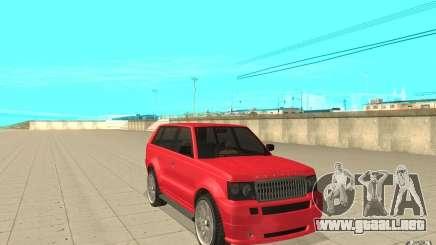 Huntley Sport de GTA 4 para GTA San Andreas