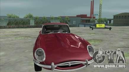 Jaguar E-Type Coupe para GTA San Andreas