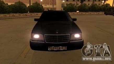 Mercedes-Benz S400 w140 v2.0 para GTA San Andreas