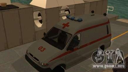 Ambulancia UAZ Simba SC para GTA San Andreas