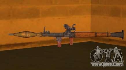 El RPG-7 para GTA San Andreas
