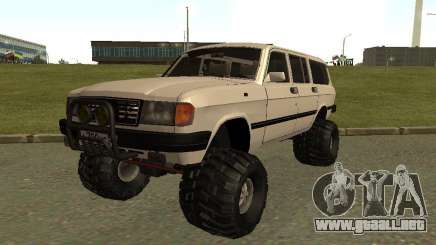 31022 Volga GAS 4 x 4 para GTA San Andreas