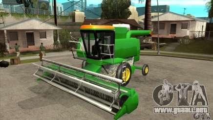 Combine Harvester Retextured para GTA San Andreas