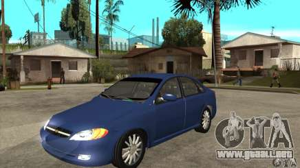 Chevrolet Optra 2011 para GTA San Andreas