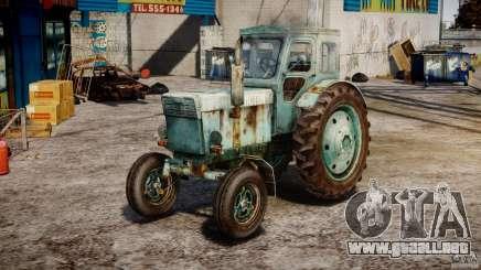 Tractor T-40 m para GTA 4