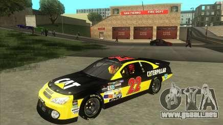 Dodge Nascar Caterpillar para GTA San Andreas